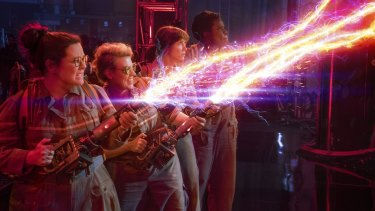 The latest Ghostbusters film is rated PG, but the Australian Council on Children and the Media says it can disturb children under 14.