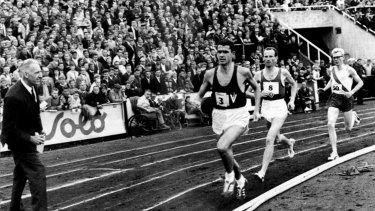 Ron Clarke in Oslo in 1965.