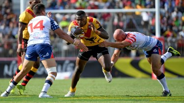 Former Raiders Kato Ottio picked PNG over an NRL contract.