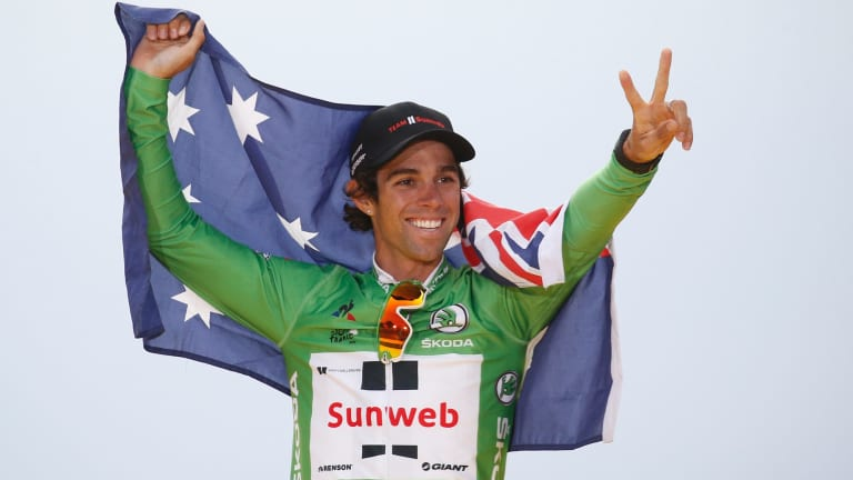 Canberra's Michael Matthews now has his sights set on conquering the world.