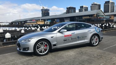 Driverless cars will soon be seen on Melbourne's freeways.