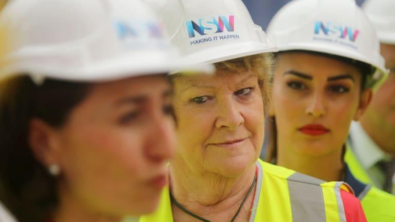 Treasurer Gladys Berejiklian and Health Minister Jillian Skinner make an announcement about the St George Hospital redevelopment.