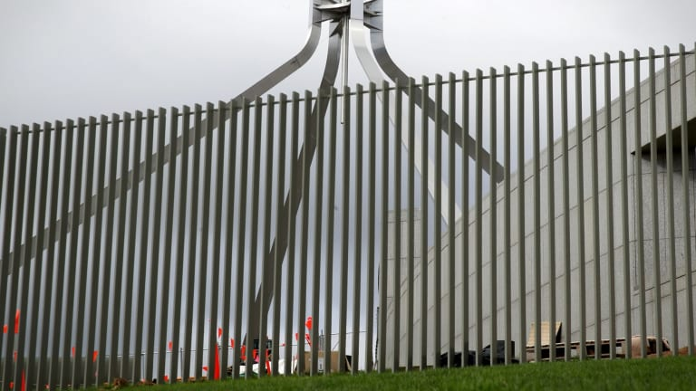 The Coalition and Labor joined forces to approve the fence in 2016.