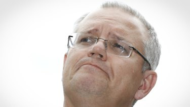 Treasurer Scott Morrison says Labor would take a chainsaw to the housing market.