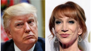 Kathy Griffin has revealed a grovelling letter she was encouraged to send to Donald Trump after a video of her posing with a severed head went viral.