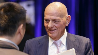 Billionaire retailer Solomon Lew will vote against the elections of chairman-elect Garry Hounsell as well as Julie Ann Morrison.