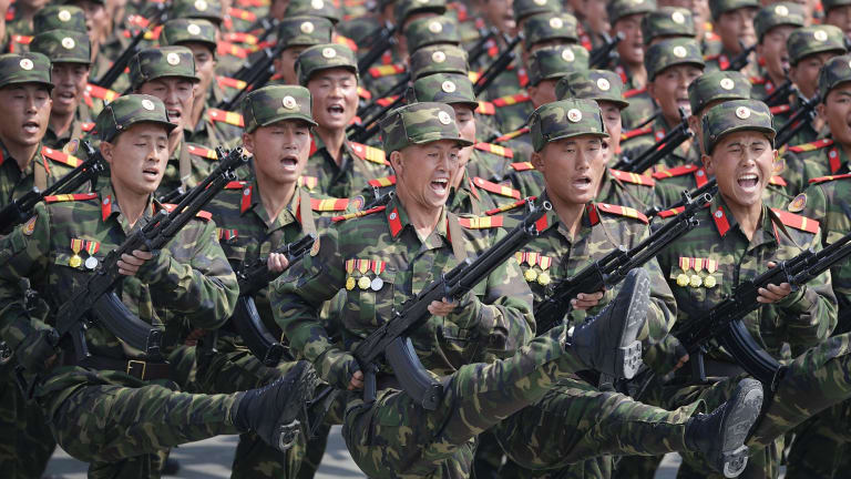 Tensions are running high on the Korean peninsula.