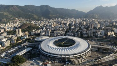 The Estadio do Maracana, host of the recent FIFA World Cup final and Rio Olympics venue.