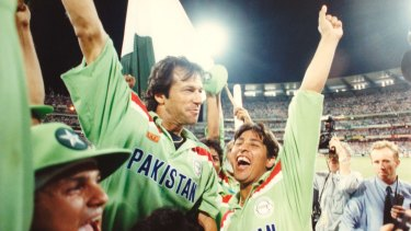 Imran Khan Hailed As A Hero Of Pakistan S 1992 World Cup Win
