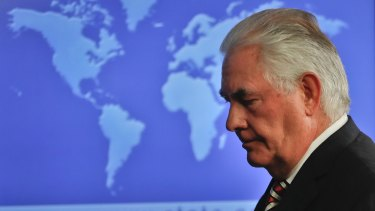"""US Secretary of State Rex Tillerson this week described the situation in Afghanistan as a """"losing battle""""."""