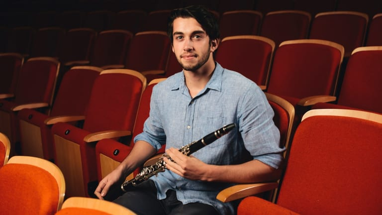 Canberra Youth Orchestra 50 year anniversary: Sam Cass.