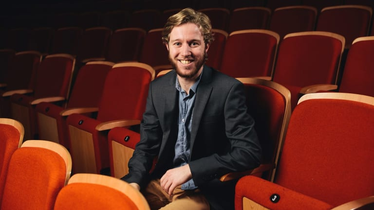 Canberra Youth Orchestra's Leonard Weiss.