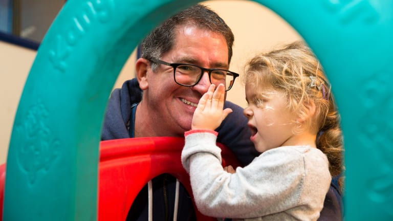 """Playgroup is a """"great source of advice and support"""" for Jonathon Smith."""