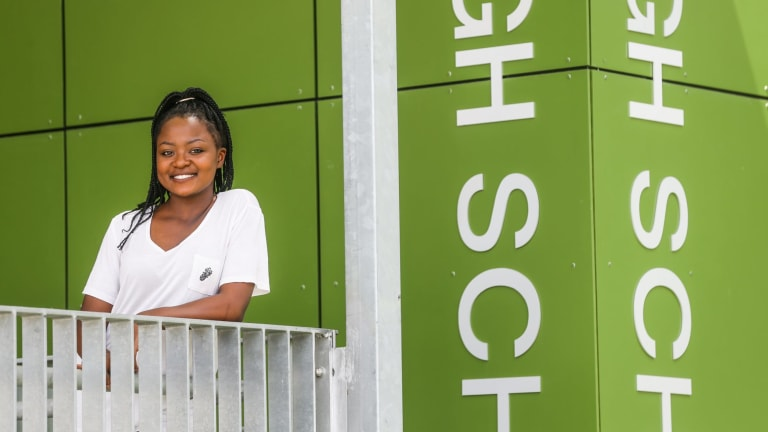 Gemimah Omari completed her HSC at Cabramatta High.