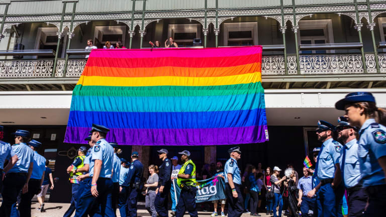 The Queensland AIDS Council said the bill and apology recognised that homosexuality should never have been against the law.