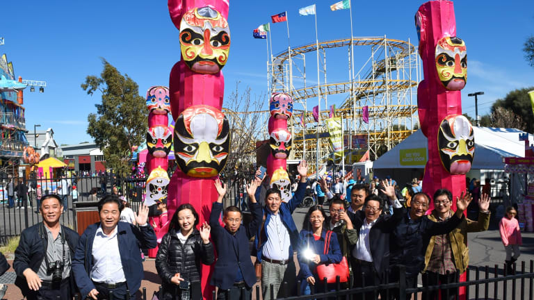 The launch of the China Pavilion at the Royal Melbourne Show.