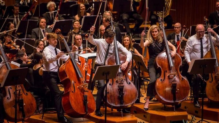 Australian World Orchestra at the Sydney Opera House.