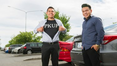 PKUP founders Oscar and Joshua Gonzalez have launched a start-up to get Canberrans and their cars home safely.
