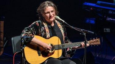 Madeleine Peyroux in concert in Brisbane.