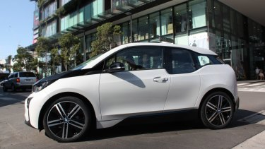 Electric cars are a central part of future cities.