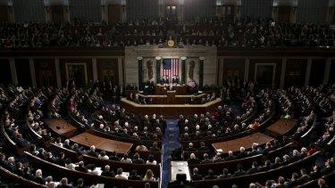 Donald Trump's first speech to Congress.