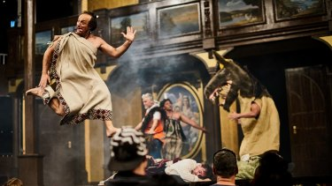 Rollicking and immersive: <i>A Midsummer Night's Dream</I> as it might have played in Shakespeare's time.