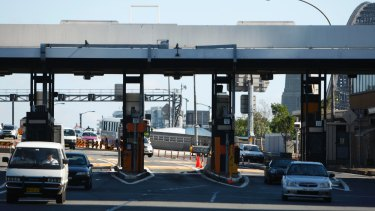 Double up: Motorists face paying Harbour Bridge tolls in both directions.