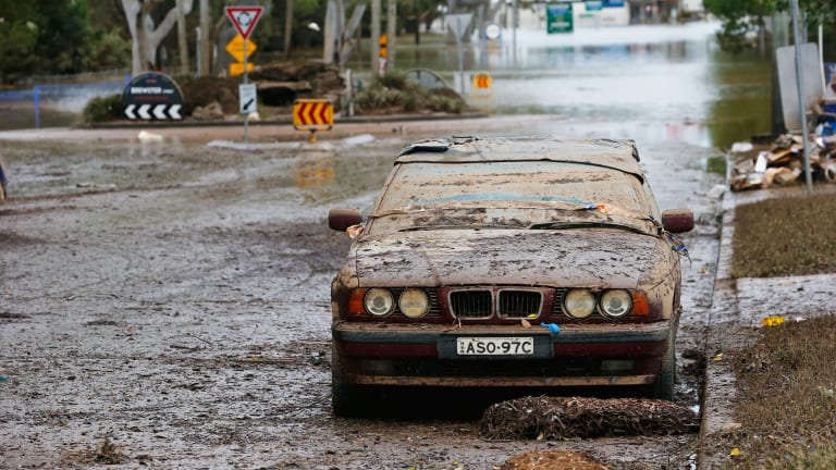 Lismore and other towns in northern NSW have barely got over cleaning up from Cyclone Debbie's aftermath.