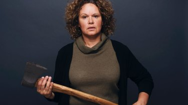 Director Leah Purcell hopes people will leave her new play, <i>The Drover's Wife</i>, in silence.