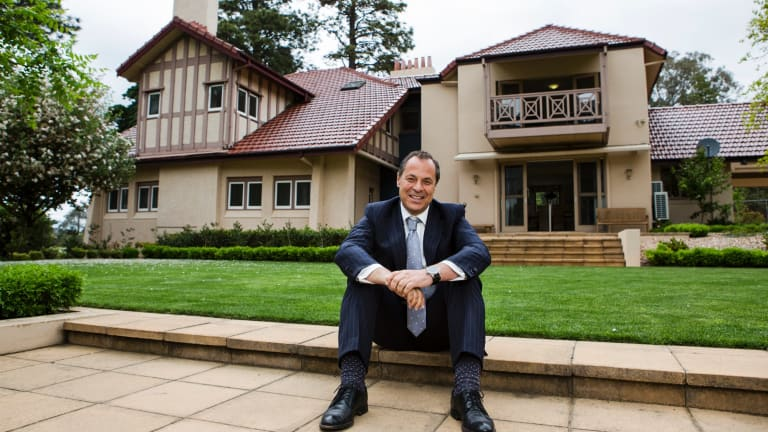 Sales consultant Mario Sanfrancesco at Westridge House.