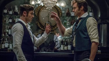 Zac Efron and Hugh Jackman star in