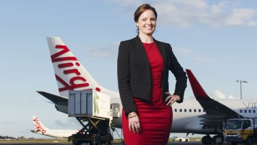 Caitlin Malone is Sydney Airport manager for Virgin Australia, the company most Australians surveyed would like to work for.