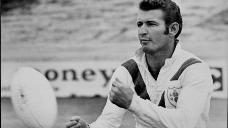 Graeme Langlands scored 86 tries for St George and revelled in the Dragons' last four premierships in an 11-year streak from 1956 to 1966.