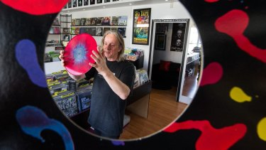 Paul Cook, owner of Heartland Records in North Melbourne.