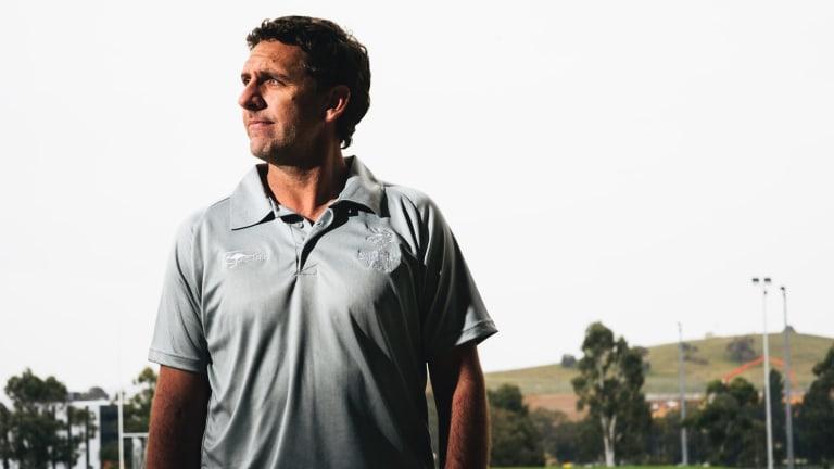NRC Vikings coach Tim Sampson