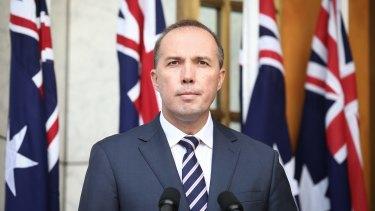 Immigration Minister Peter Dutton.