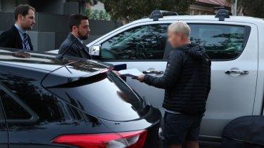 Detectives arrest Hamish McLaren in Bondi over an alleged $1.8 million fraud.
