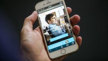 The LiveHire app.