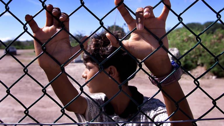 The fact that children are among the victims of Australia's detention policy makes it worse that what happens at Guantanamo Bay.