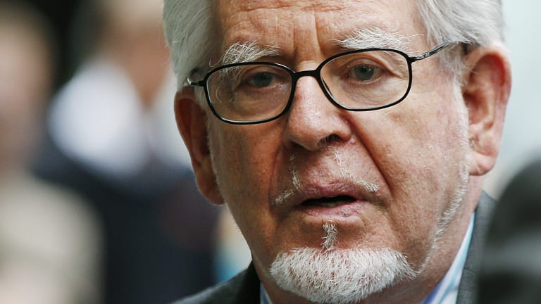 Entertainer and convicted paedophile Rolf Harris.