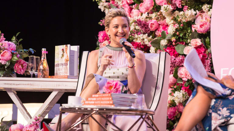 Kate Hudson at the Business Chicks lunch at the International Convention Centre in Sydney on Tuesday.