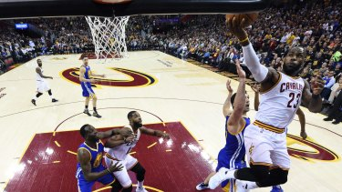 5435e8f961a3 Heartbreak  Near perfection was not enough for LeBron James and the  Cavaliers.