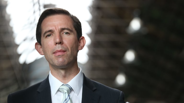 Education Minister Simon Birmingham.