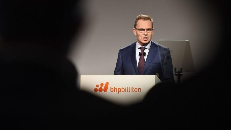 BHP boss Andrew Mackenzie said last week he lobbied Trump to keep the US in Paris