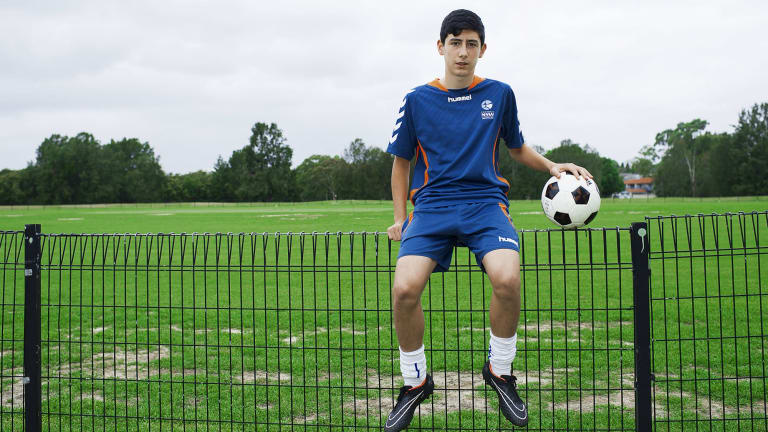 Face of the future: Patrick Scibilio will be the type of player chased by the Wanderers and Sydney FC.