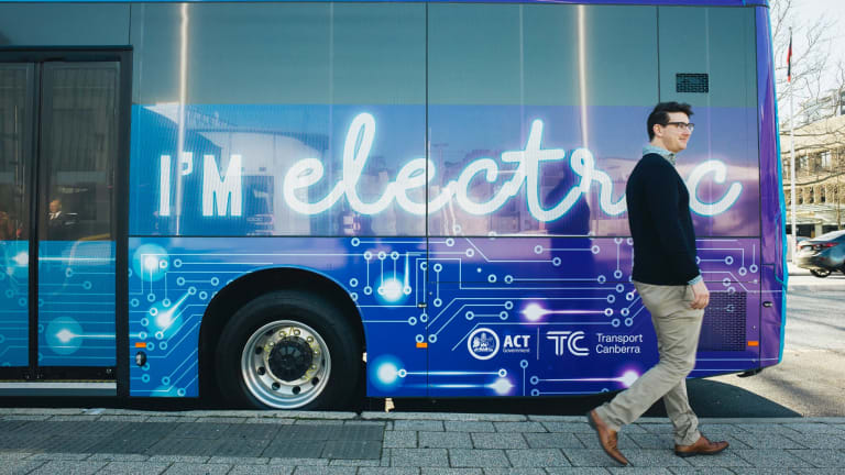 You can't miss the ACT's new electric and hybrid buses.