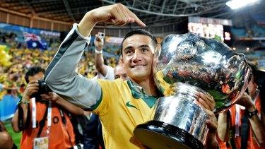 In demand: Socceroos veteran Tim Cahill.