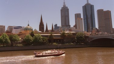 A Yarra River commuter service has bee proposed from Chapel Street to Docklands, via Richmond.
