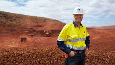 Fortescue Metals Group chief executive Nev Power has had a tough week.