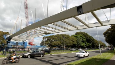 The bridge's construction costs have blown out by $13 million.